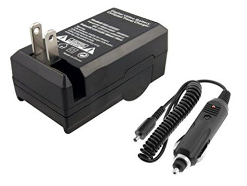 2-Pack of Replacement IA-BP105R Batteries and Battery Charger for Samsung HMX-F80, HMX-F80BN, HMX-F80SN, HMX-F90, HMX-F90BN, HMX-F90WN, HMX-F800, HMX-F900, HMX-F900WN, SMX-F50, SMX-F50BN, SMX-F53, SMX-F54, SMX-F500, SMX-F501, SMX-F530, SMX-F70, SMX-F700, HMX-H300, HMX-H300BN, HMX-H303, HMX-H304, HMX-H305, HMX-H320 Camcorder