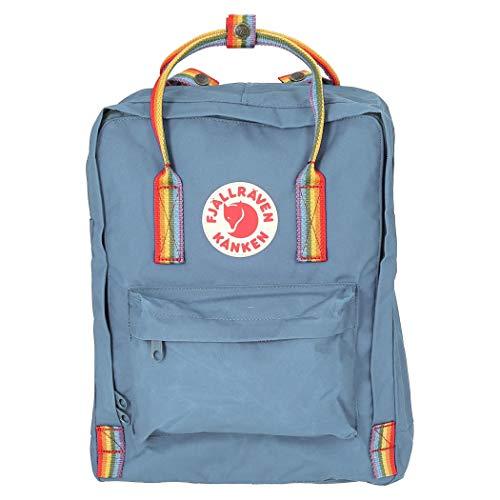 Fjallraven Kånken Sports Backpack, Air Blue-Rainbow Pattern, One size