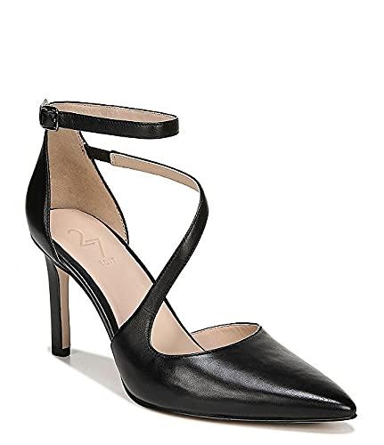 ナチュライザー Naturalizer シューズ 25.0 cm パンプス 27 EDIT Naturalizer Abilyn Leather Ankle Black Leat レディース [並行輸入品]