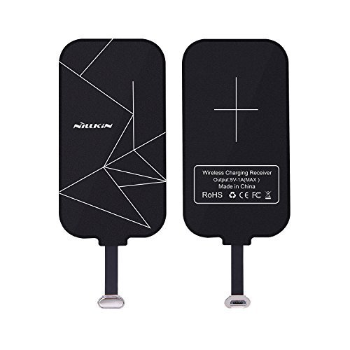 Nillkin Wireless-Ladegerät-Empfänger,Wireless Charger Receiver, Magic Tags Qi Wireless Ladegerät Ladegerät Patch Modul Chip für VIVO X6 & andere Micro USB Narrow-Side Down Qi-Enabled Devices