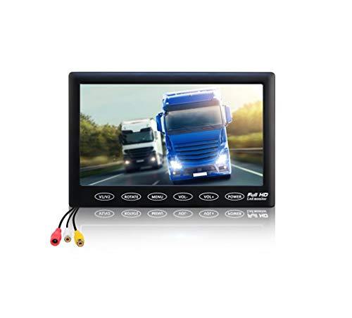 Voiture Universal 7 pouces voiture affichage HD 1024 * 600 chariot moissonneuse camion image de recul