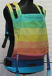 "Bamberoo Custom Baby Carrier Girasol""Rainbowtopia"" Choose your body size and strap length!"