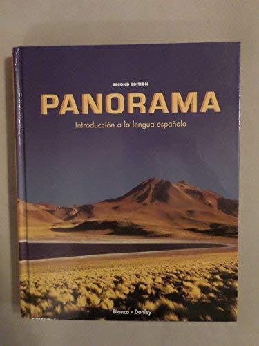 Panorama: Introduccion a la lengua espanola, 2nd Edition