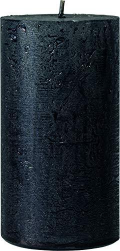 safe candle® NOVA vela decorada auto-extinguible, 4 piezas, altura 11 cm /...