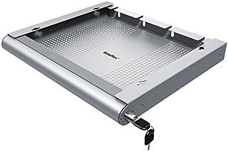 Dataflex Addit Hardware Sicherheitsauszug 622   Notebook Zubehör (Silber, Stahl, Einfarbig, 530 mm, 450 mm, 75 mm)