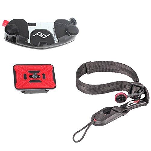 Peak Design CapturePro Kit mit Camera Clip inkl. ProPlate Kameraplatte und Cuff Handgelenkschlaufe