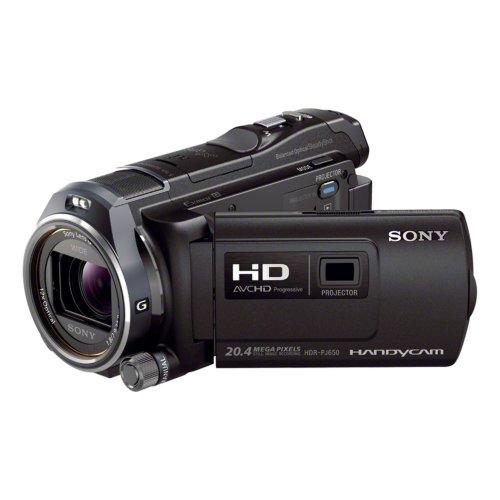 Sony HDR-PJ650VE – manueller Digital-Camcorder, CMOS, 1/6 – 1/10.000, 25,4/3,91 mm (1/3,91), 2,9 – 34,8 mm, Speicherkarte