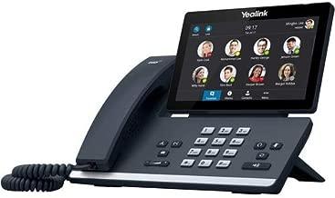 Yealink T56A IP Phone - Corded - Corded - Desktop - Metallic Gray - VoIP - Caller ID - Speakerphone - 2 x Network (RJ-45) - USB - PoE Ports - SIP, SIP v2, IPv4, IPv6, DHCP, PPPoE, SNTP, UDP, TCP, SRTP
