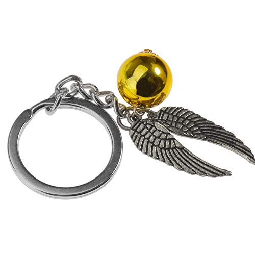 ENET Llavero para Harry Potter Golden Snitch Poudlard Quidditch Regalo