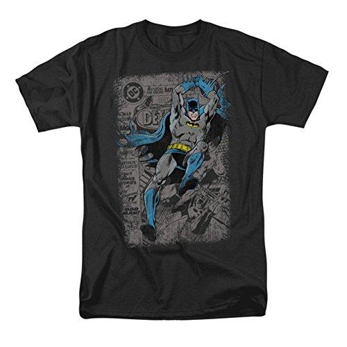 Batman Detective #487 T-shirt classique pour homme Noir XXXL