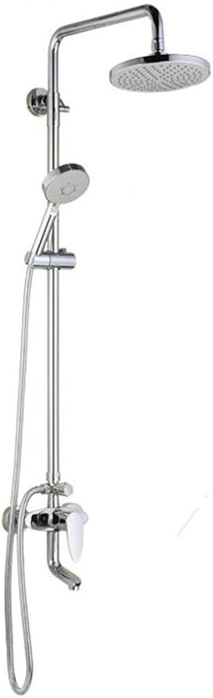 MDMMBB Einfache groe Dusche Set Kupfer Wasserhahn aufgeladene Dusche heie und kalte Wand Dusche im Badezimmer