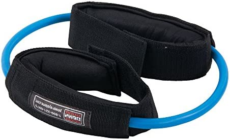 Power Systems Versa Cuff, 2 Padded Cuffs with Resistance Tubes for Wrists and Ankles