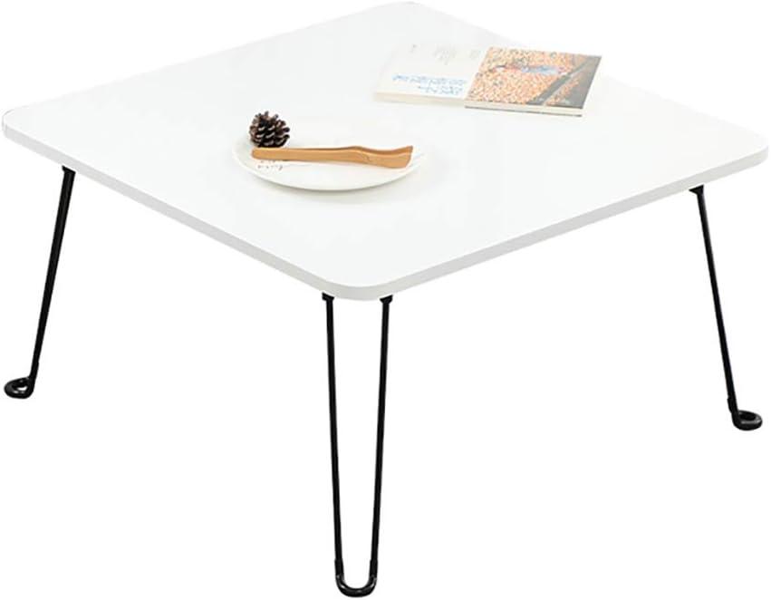ZWJLIZI Folding 100% quality warranty! Table New sales Portable Square Wrought Leg Le Iron