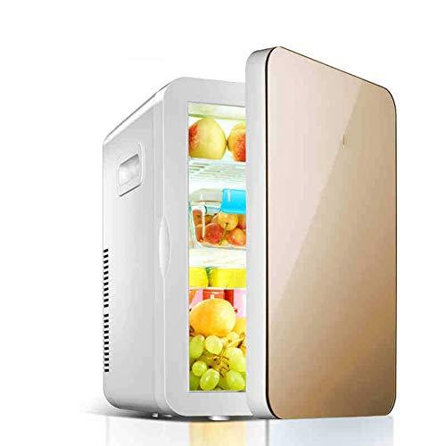 Frigoríficos mini Mini Refrigerador del Coche, 2 en 1 20L Auto y Hogar de Doble Uso Mini Nevera Personal Portátil, Refrigerador Compacto Nevera/Calentador, para Automóviles, Hogares, Oficinas Y Dormit