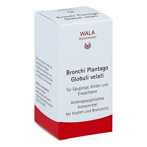 WALA Bronchi Plantago Globuli velati, 20 g Globuli