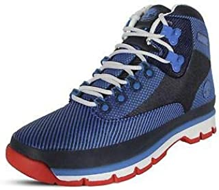 حذاء Timberland Euro رجالي للتنزه من قماش الجاكار الأزرق مقاس 7 A1OB5NEBULASBLUESZ7