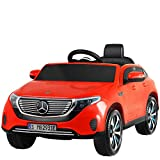 Uenjoy 12V Kids Electric Ride On Car Mercedes-Benz EQC 400 Motorized Vehicles with Remote Control, Battery Powered, LED...