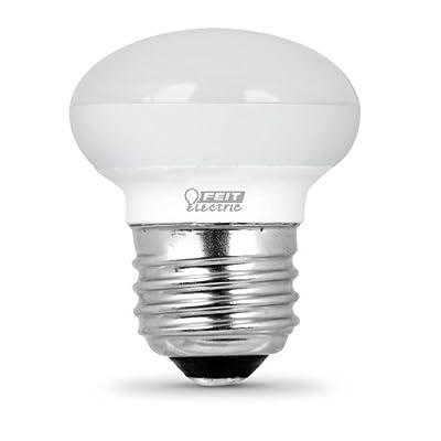 "Feit Electric BPR14DM/927CA/4 40W Equivalent 4 Watt Dimmable 300 Lumens LED R14 Light Bulb, 2.3""H x 1.5""D, 2700K Soft White, 4 Piece"