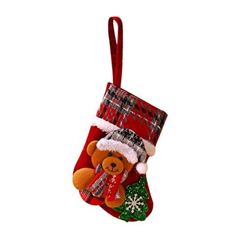 Christmas Socks Christmas Tree Decorations Ornament Party Holiday Decor Gift