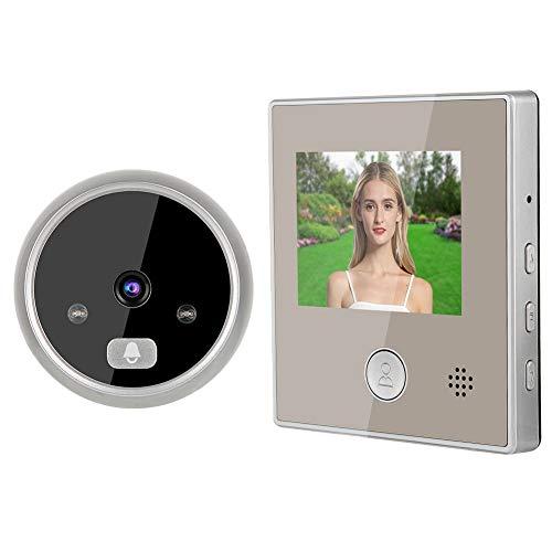 Spioncino, Spioncino Digitale Porta Blindata Spioncino Digitale Elettronico Per Porta Blindata Con Visione Notturna a Infrarossi HD Grandangolare 150 ° Impermeabile Conversazione Bidirezionale.