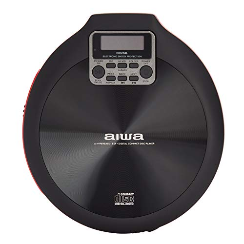 AIWA PCD-810RD CD-Player rot und schwarz