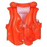 Intex 58671EU - Chaleco hinchable naranja con hebillas 50 x 47 cm