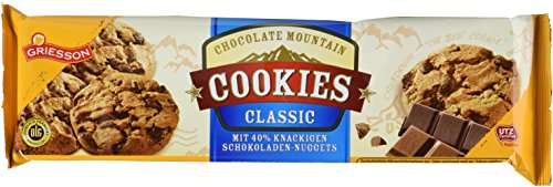 Griesson Chocolate Mountain Cookies,14er Pack (14x 150 g Packung)