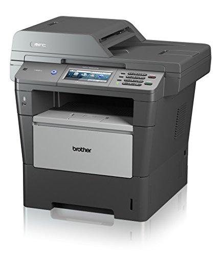 Brother MFC-8950DW Monolaser-Multifunktionsgerät (Scanner, Kopierer, Drucker, Fax, 1200 x 1200 dpi, USB 2.0) grau