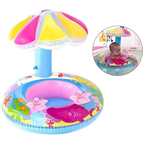 baby schwimmring aufblasbarer,baby schwimmring mit schwimmsitz,babyschwimmen baby schwimmtrainer,baby float schwimmreifen,aufblasbarer schwimmreifen kleinkind (D)