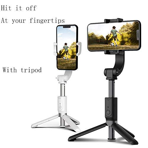 chengasrfgyhjulong Selfie Bar Mobiele Telefoon Stabilizer Schieten Handheld Anti-Shake Balance Gimbal Beugel Live Statief Selfie Artifact Draagbaar A