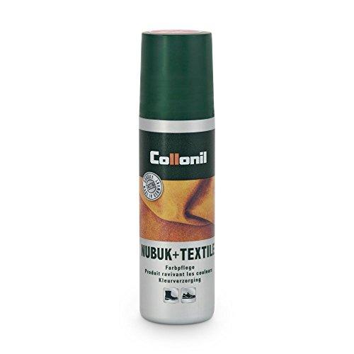 Collonil Nubuk + Textile, Producto de reparación zapatos, unisex, Verde (Forest), 100 ml