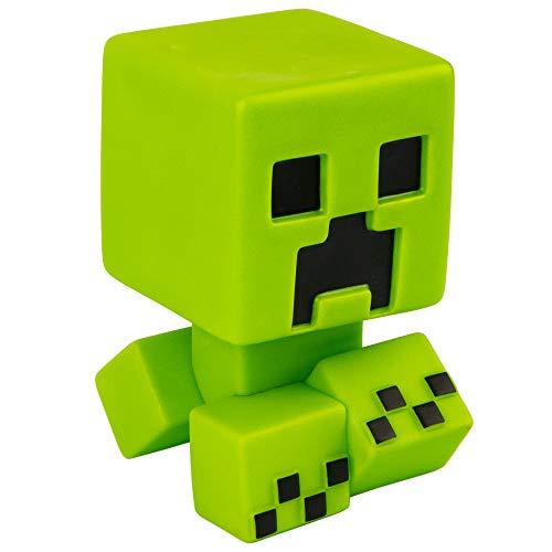 Minecraft Creeper Mega Bobble Mobs - Green Glow in The Dark