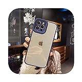 Coque de protection transparente de luxe pour iPhone 11 12 X XR XS Max Pro Max 7 8 Plus SE2020 -...