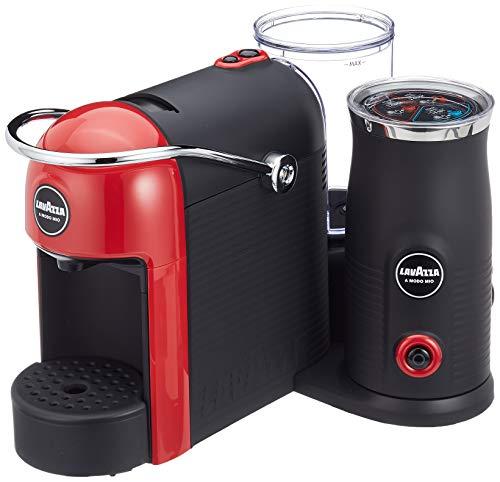 Lavazza A Modo Mio Jolie&Milk Latte Kaffeekapselmaschine (mit Milchschäumer) rot