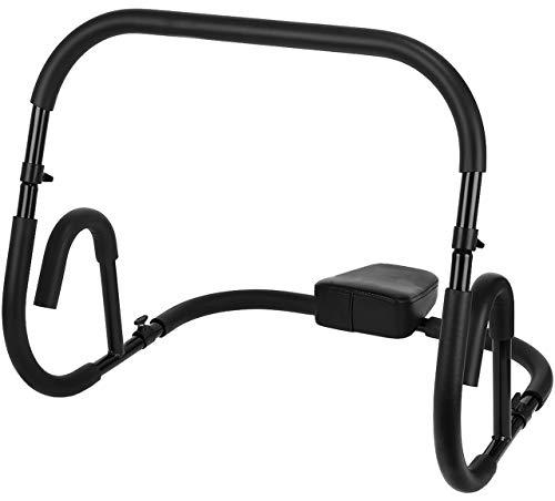 Iso Trade 8558 - Balancín para entrenamiento abdominal, color negro
