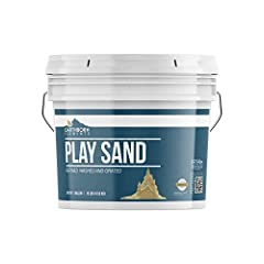 DESIGNED FOR INDOOR & OUTDOOR SANDBOXES & PLAY AREAS CHILDREN'S PLAY SAND FOR BUILDING & MOLDING PROMOTES CREATIVITY, KINESTHETICS, & SPATIAL AWARENESS REFINED, WASHED, & GRATED KEEP DAMP TO REDUCE DUST