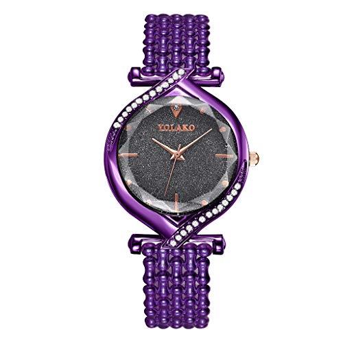 LEEDY Armbanduhr Damen Armbanduhr Mädchen Uhr Elegant Und Schlicht Damen Geschenke Arbeit Uhr Schöne Frauen