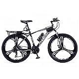Bicicleta Montaña 27.5 Pulgadas Bicicleta De Montaña Bicicleta Para Adultos Para Hombre Para Mujer 24 Velocidades Al Aire Libre Deporte Ciclismo Bicicletas De Carretera Bici(Size:24 Speed,Color:Negro)