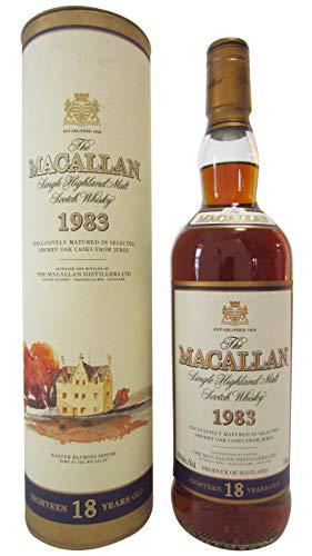Macallan - Single Highland Malt - 1983 18 year old Whisky