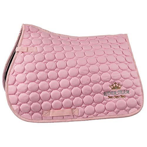 horze Emilie Pony Vielseitigkeitsschabracke, Bubble Gum Pink, P