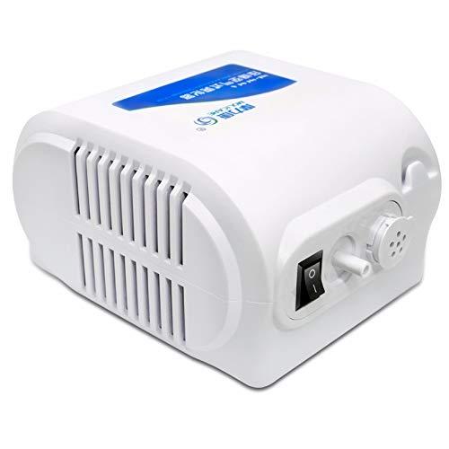 GOG@# Médico Hogar Niños Adulto Nebulizador,Aire Compresión Atomizador,Aliviar la Tos Y Eliminar la Flema. Humidificador Inhalador/Blanco / 175~135 mm.