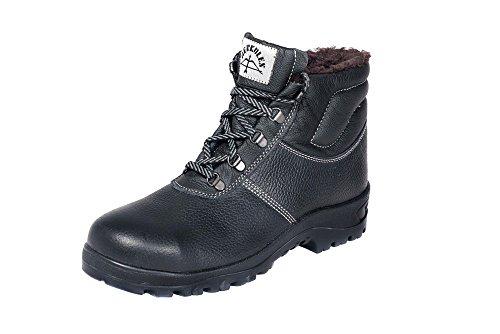 HERKULES Sicherheitsschuh I Winter-Schuhe S3 I Weich Warm Futter I S3 I Gr 36-50, Groesse:43 EU