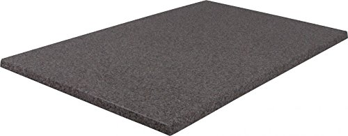 Rechteckige Werzalit-Tischplatten, verschiedene Ausführungen (Puntinella grau 120x80 cm)