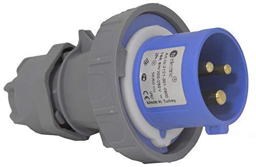 CEE Stecker Kupplung Gerätestecker Wandsteckdose Steckdose IP 67 32 A 3 Pol (Stecker 3pol 32A)