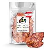 Alto-Petfood - 10 XL Ganze getrocknete Schweineohren für Hunde   ohne fettige Muschel   100% Natürlich   Premium Qualität   Naturkauartikel, Kausnack, Hundesnack, Kauartikel, Schweine-Ohren
