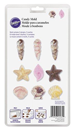 Wilton Muschelform für Süßigkeiten und Lutscher