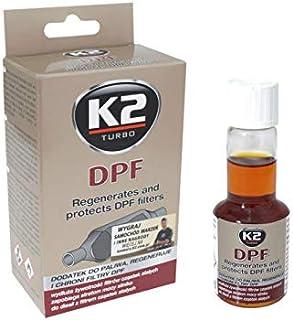 K2 Dieselzusatz Additiv für Dieselpartikelfilter, Einspritzdüsenreiniger, Reiniger RuàŸpartikelfilter, 50ml