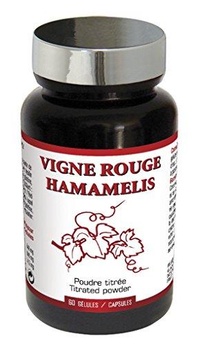 Nutri Expert Vigne Rouge Hamamélis Gélules 60 Unités