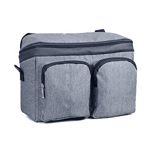 YHANS Aufbewahrungstasche Rollstühle Walker Taschen Multifunktionale Aufbewahrungstasche Mit Mehreren Zip Fächer Und Taschen Beutel Der Großen Kapazität,Grau