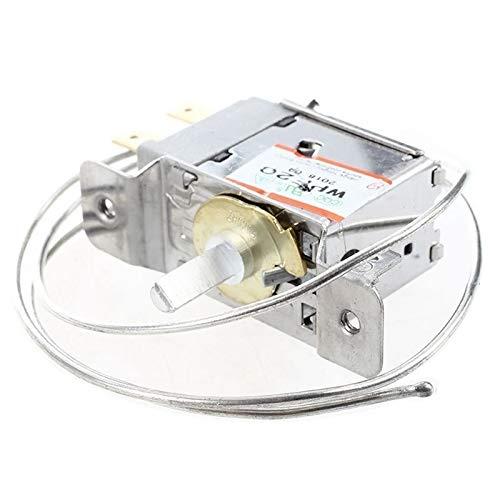 NLLeZ 1 UNID AC 220V 6A 2 Pin Freezer Frigorífico Termostato WPF-22